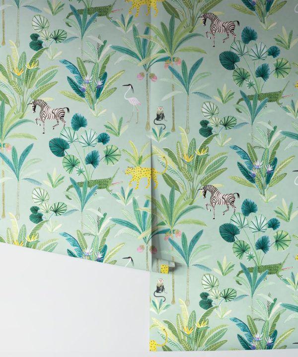 Jungle Wallpaper, Animal Kingdom by Bethany Linz