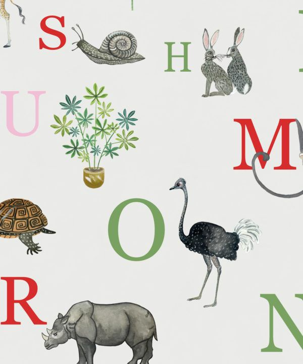 Noah's ABC Alphabet Wallpaper