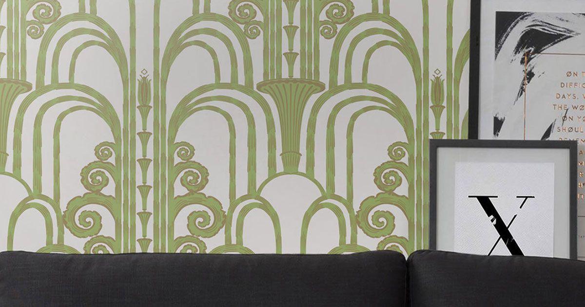 Art Deco Wallpaper Retro Luxurious Wallpaper Milton