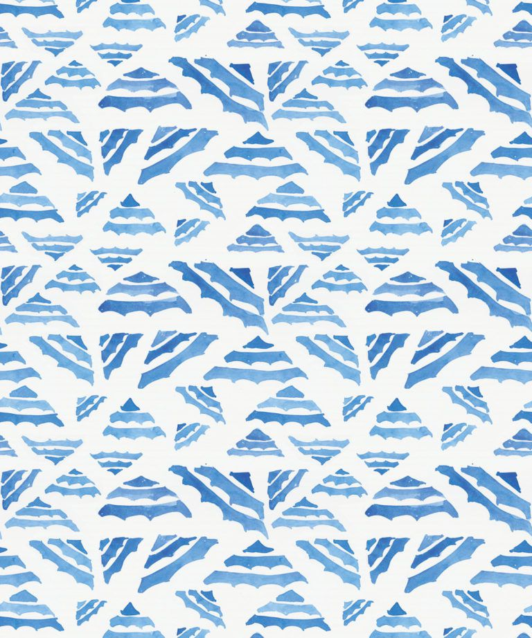 La Fontelina • Blue Wallpaper • Milton & King UK