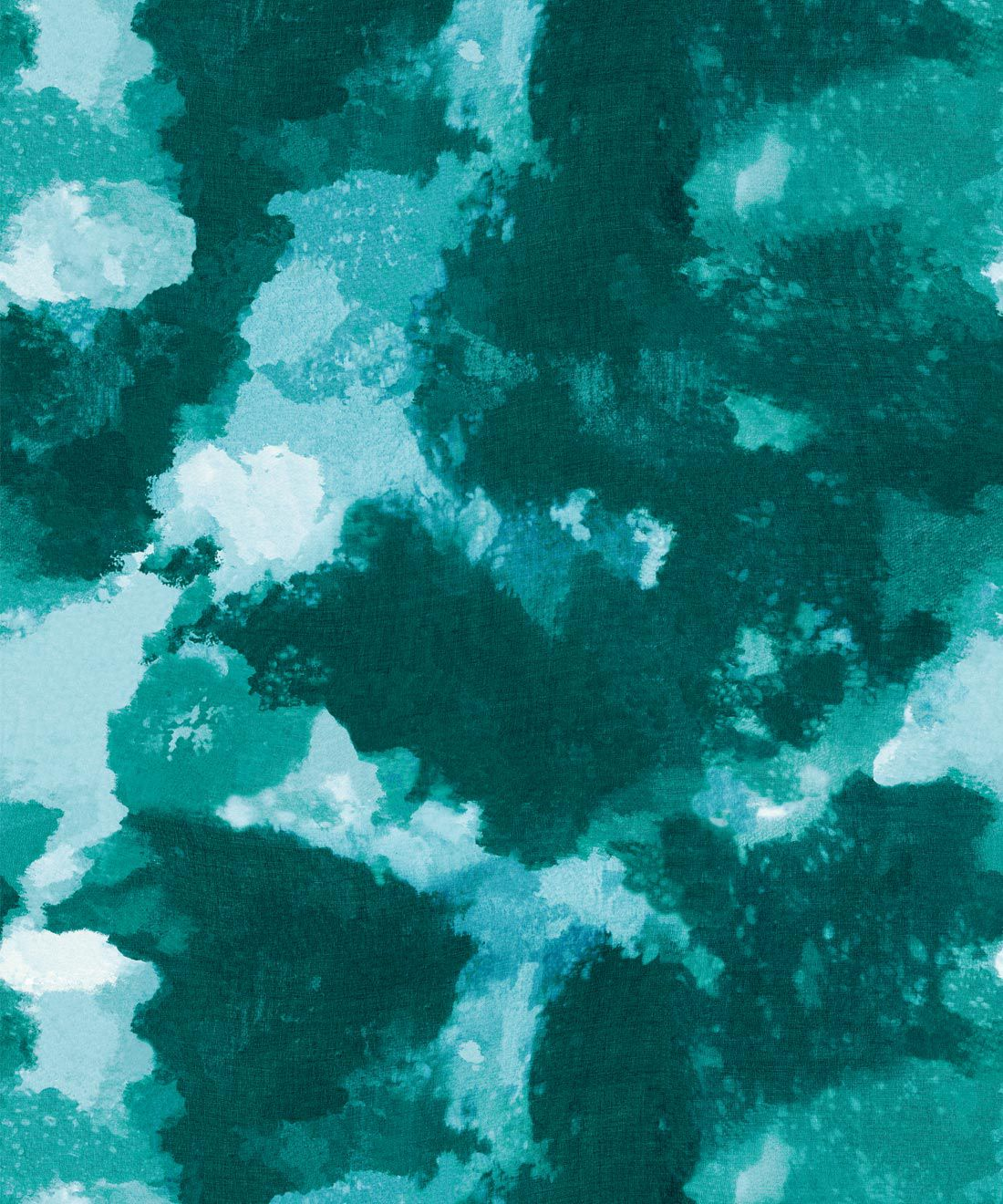 Autumn Path Wallpaper ocean teal • Shibori Abstract • Swatch