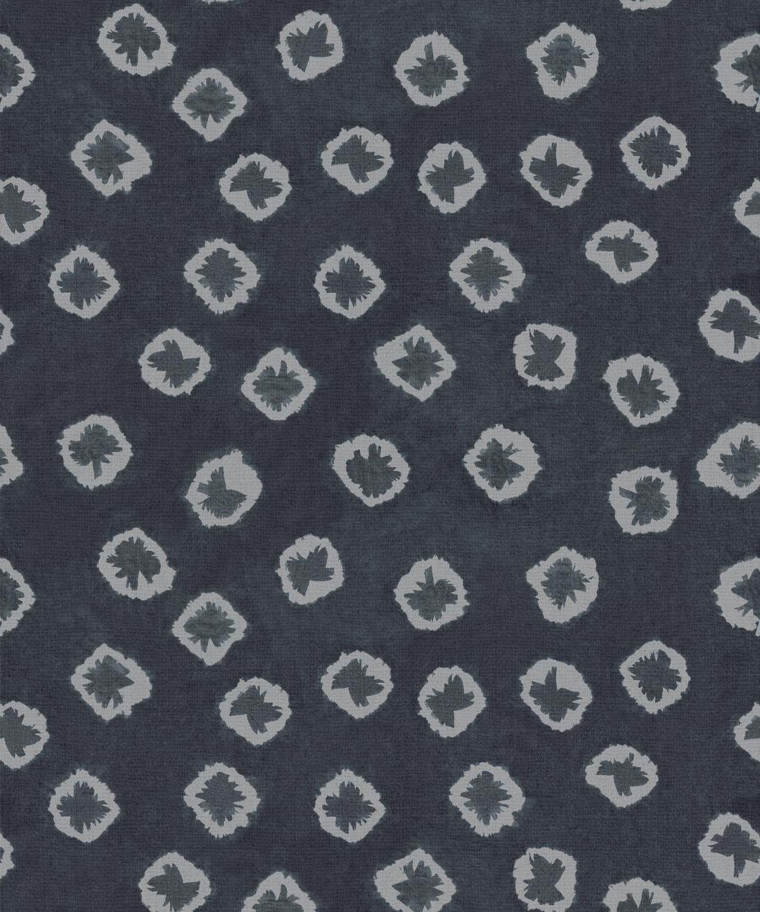 Midnight Kanoko Wallpaper • Shibori