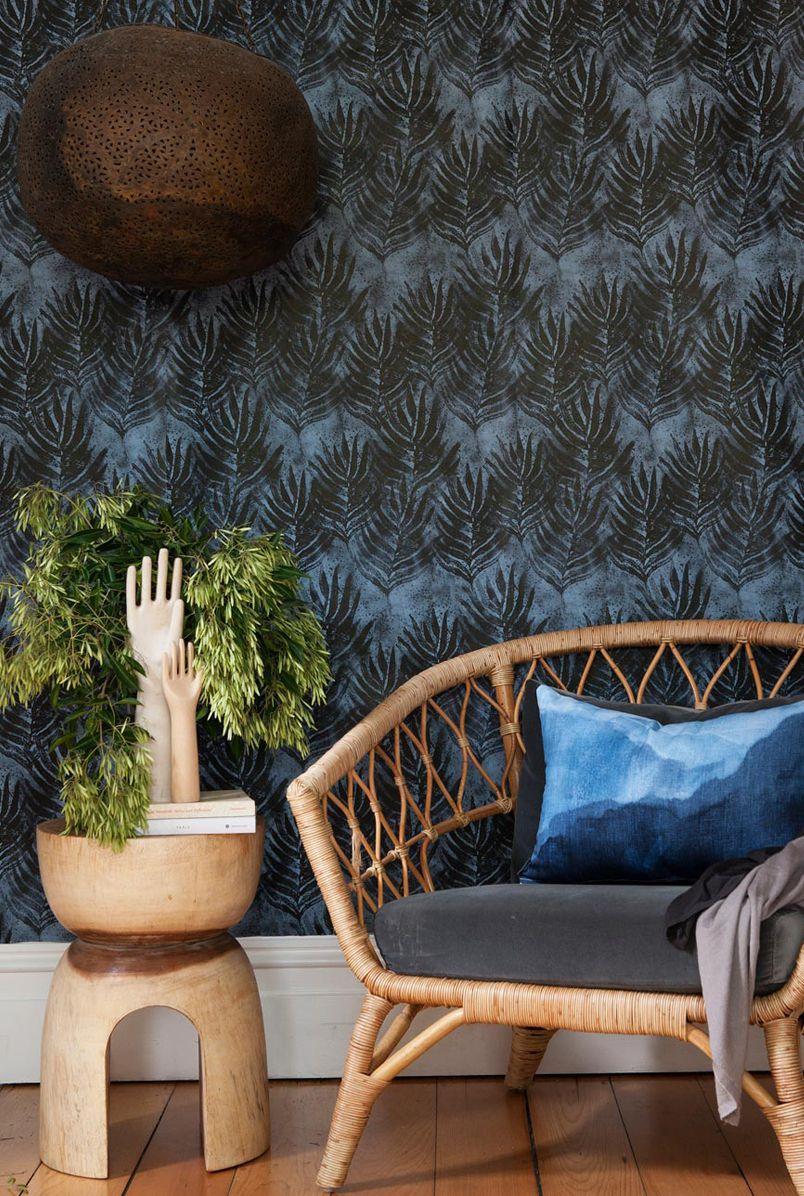 Shibori Impressions Collection • Bold Bohemian Wallpaper