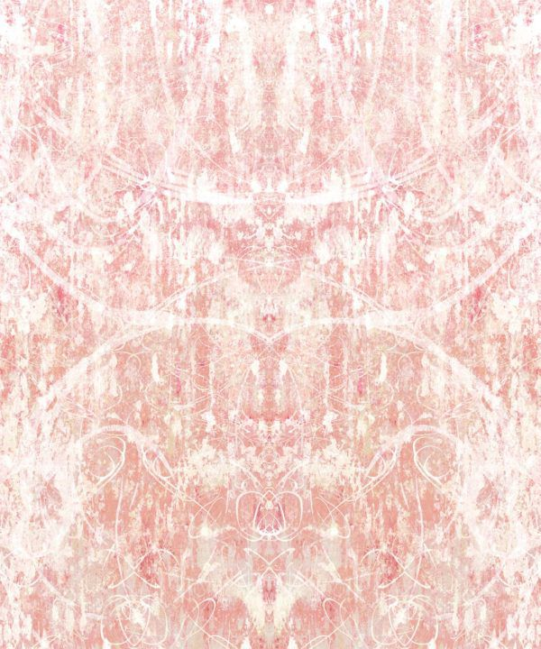 ori Wallpaper by Simcox • Color Peach • Abstract Wallpaper • swatch