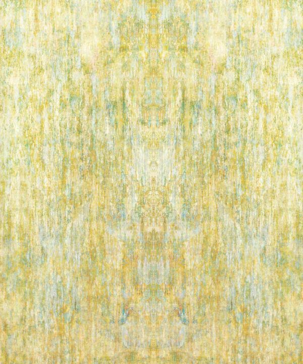 Patina Wallpaper by Simcox • Color Gold • Abstract Wallpaper • swatch