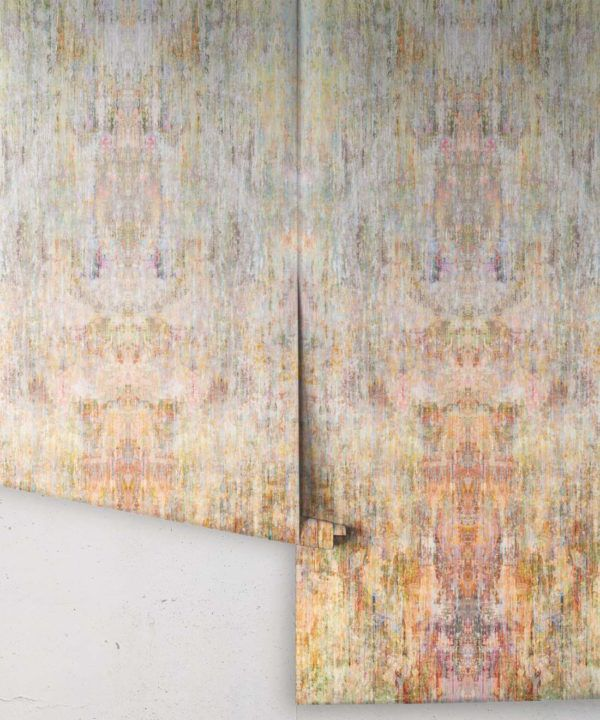 Patina Wallpaper by Simcox • Color Light • Abstract Wallpaper • rolls
