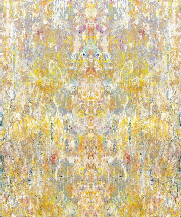 Ramose Wallpaper by Simcox • Color Light • Abstract Wallpaper • swatch