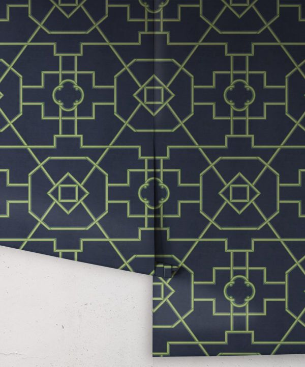 Trellis wallpaper • Milton & King UK