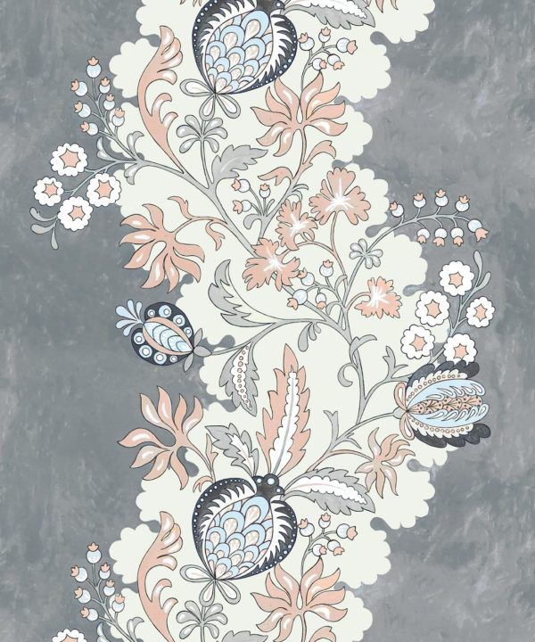Pomegranate Wallpaper • Dusty Pink • Swatch