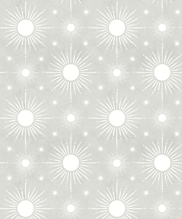 Sun Light Star Bright Wallpaper • Beige • Swatch