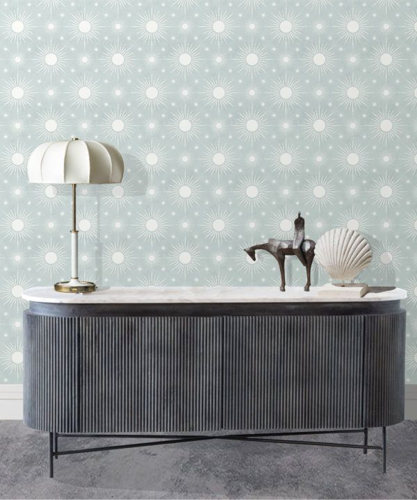 Sun Light Star Bright Wallpaper • Sea Spray • Insitu