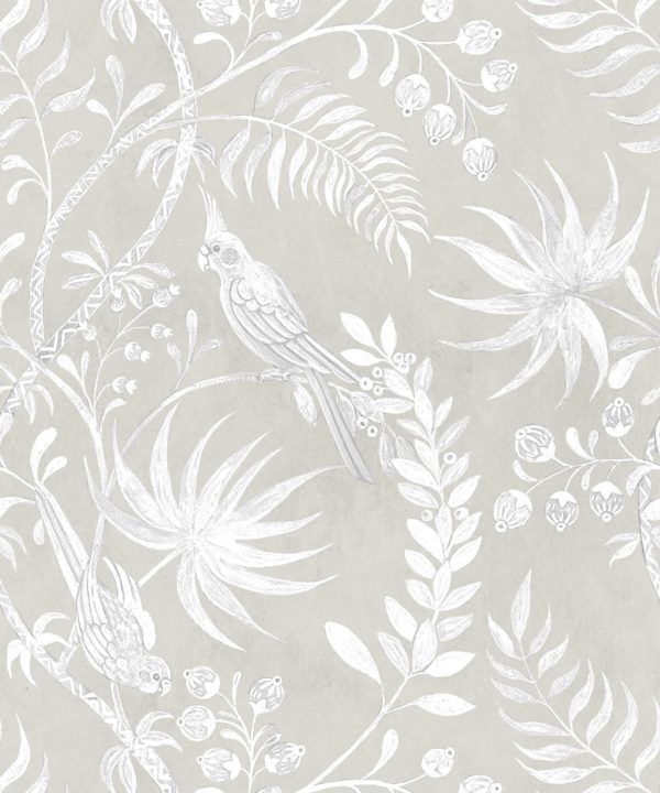 Tropicana Wallpaper • Beige • Swatch