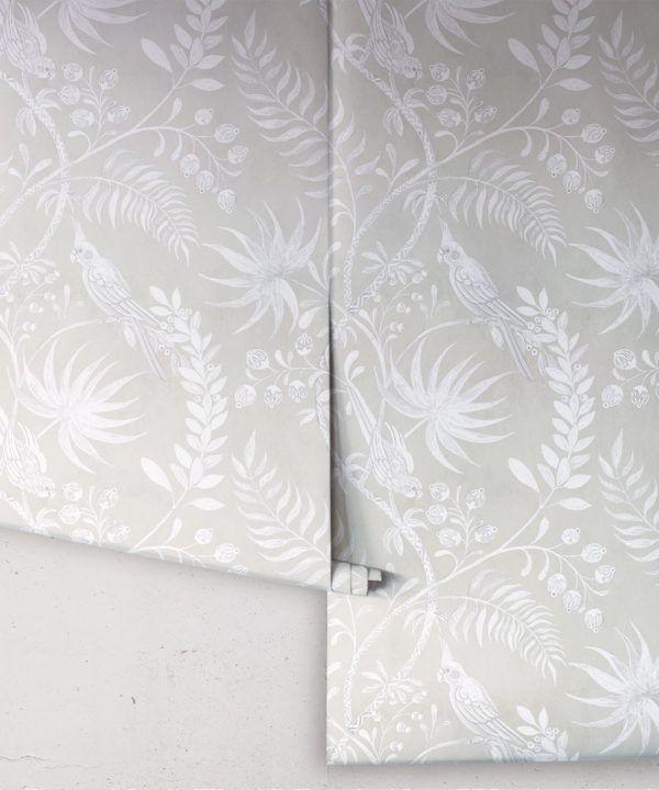 Tropicana Wallpaper • Beige • Rolls