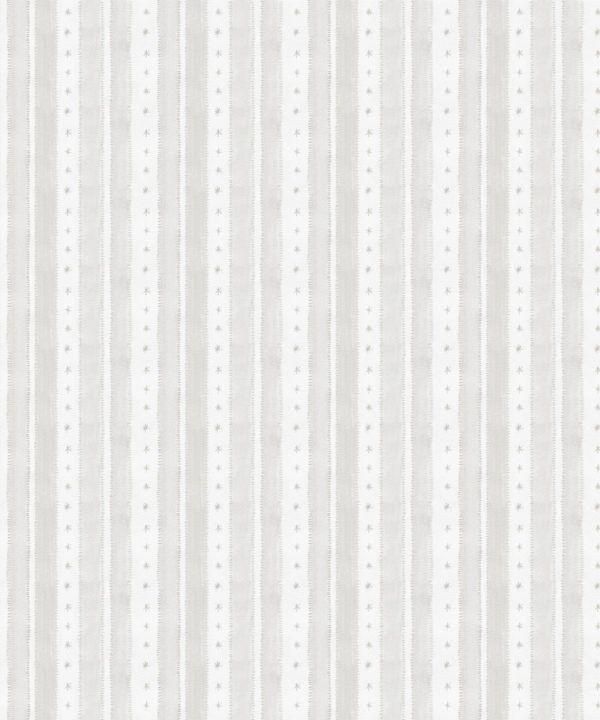 Star Stripe Wallpaper • Beige • Swatch