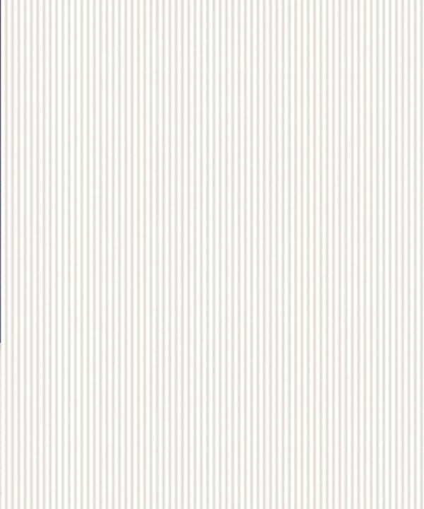 Ticking Stripe Wallpaper • Natural Wallpaper • Swatch