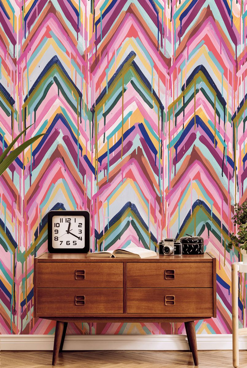 New Wallpaper Designs from Tiff Manuell