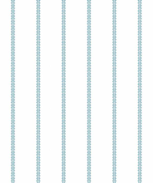 Chemin Wallpaper • Striped Wallpaper • Powder Blue • Swatch
