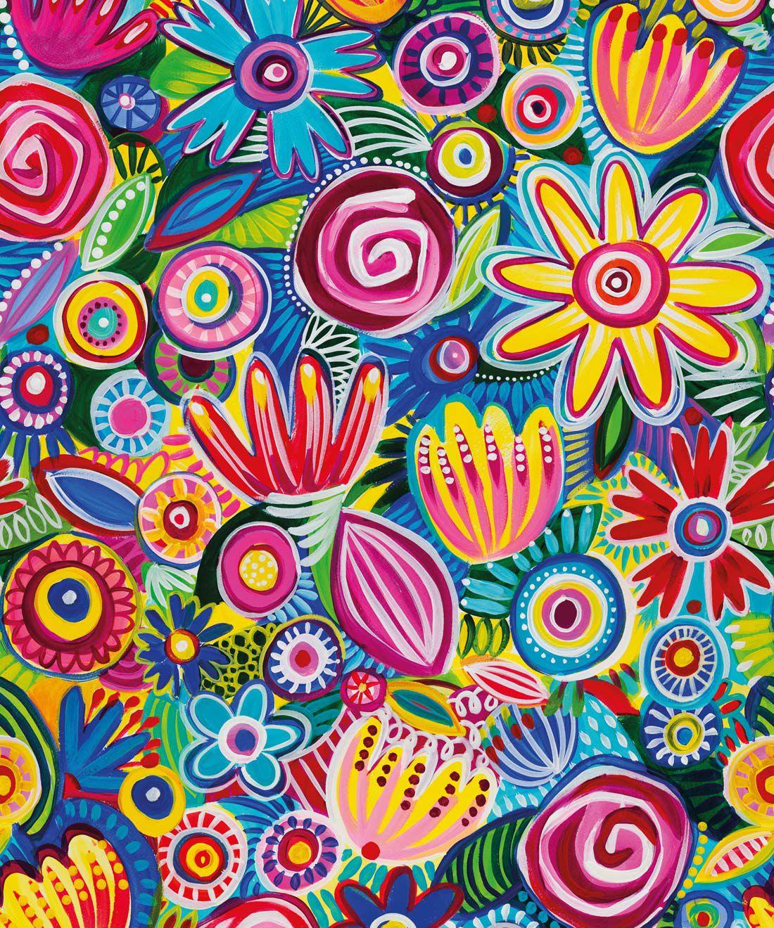 Colour Collaboration Wallpaper