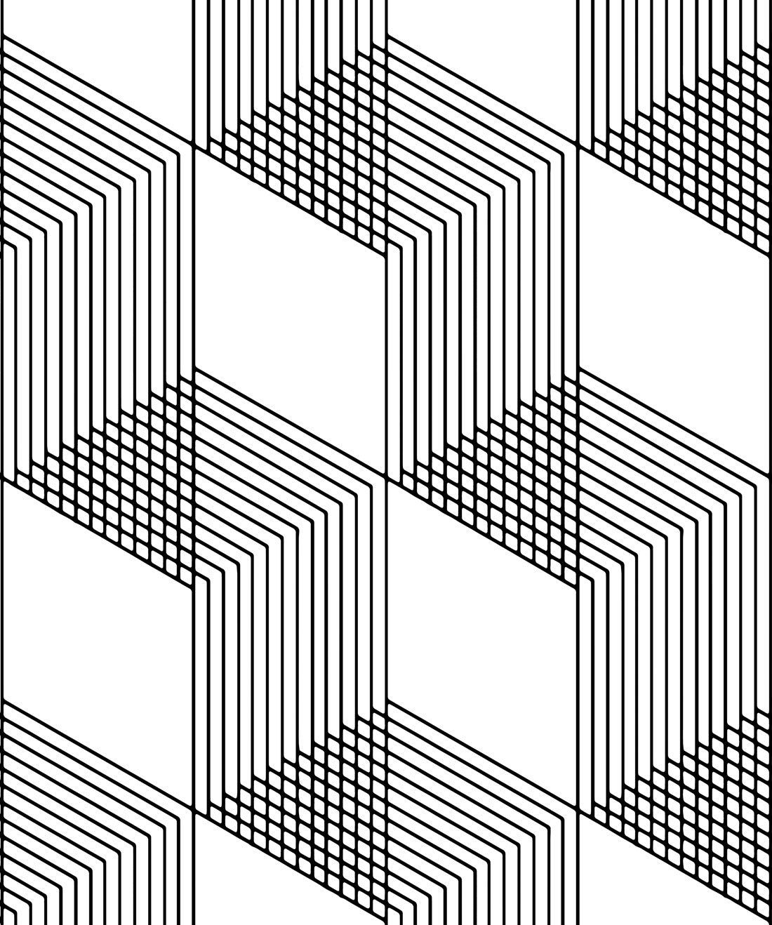 Origami Wallpaper Black