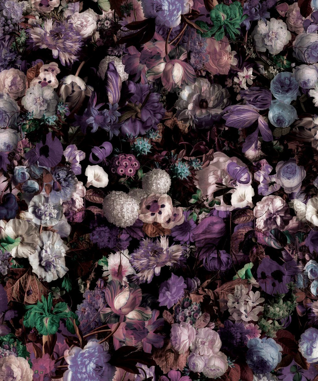 Flower Pool Wallpaper (Two Roll Set)