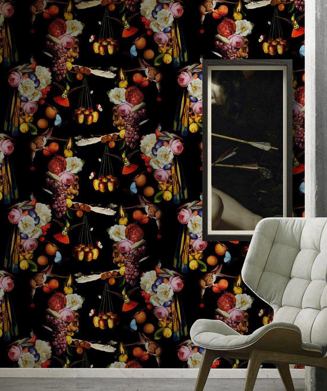Gluttony Wallpaper • Food wallpaper • Fruit Decor