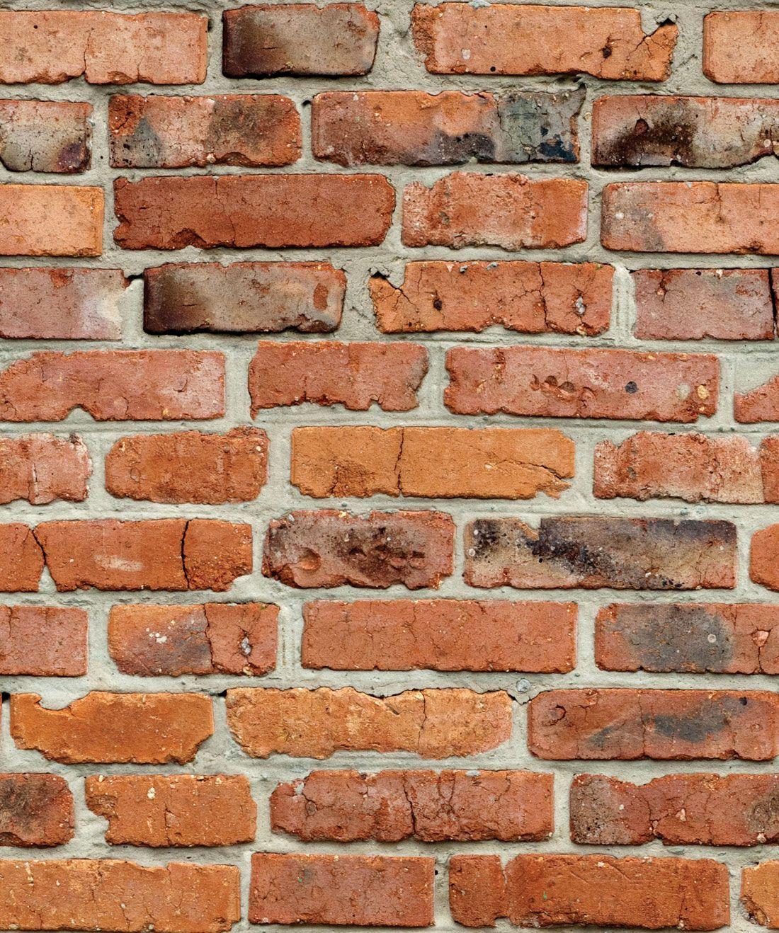 Camden Factory Bricks Wallpaper