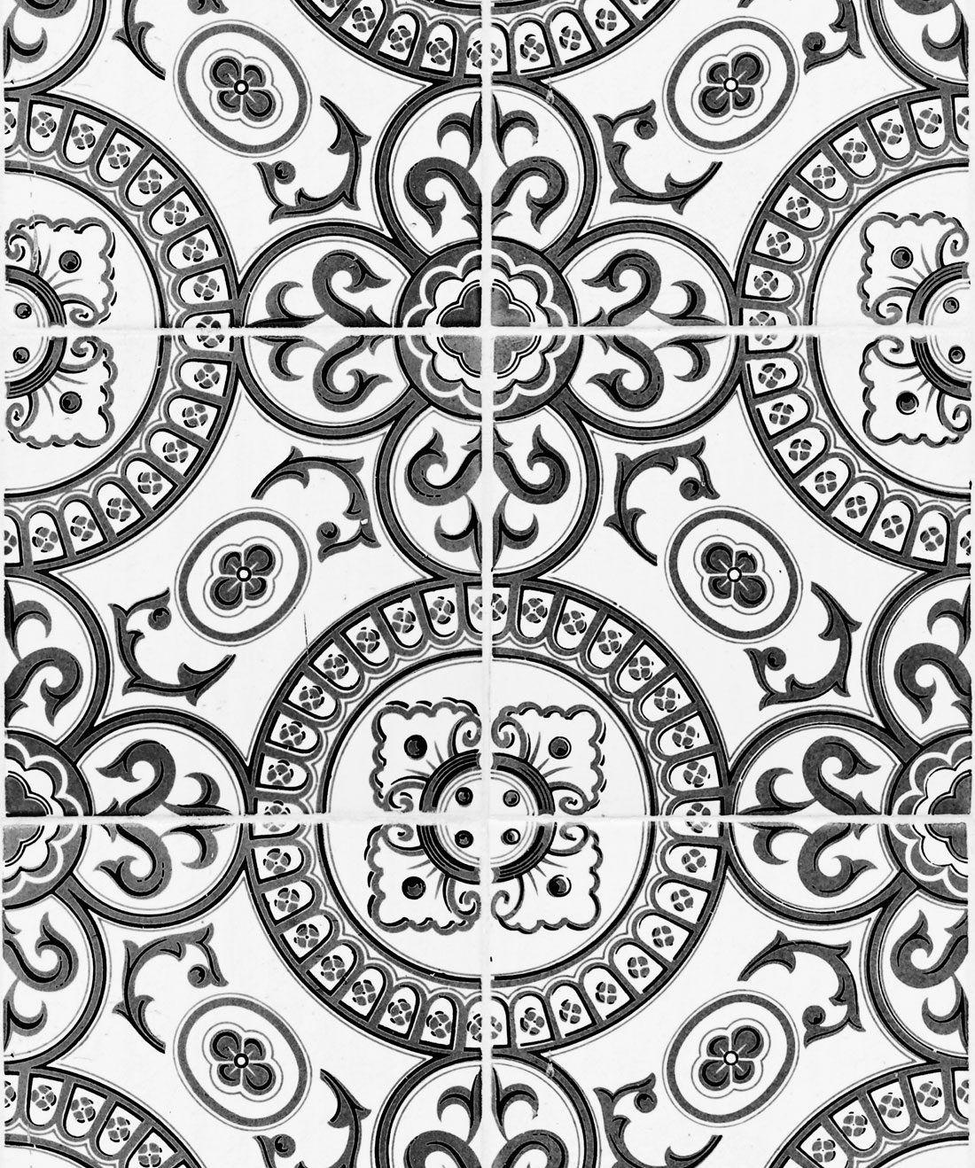 Heritage Tiles Black