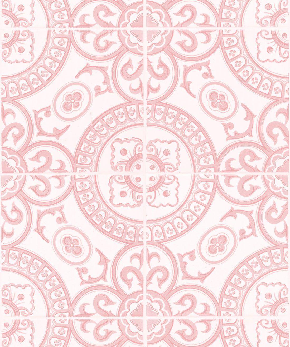 Heritage Tiles Pink