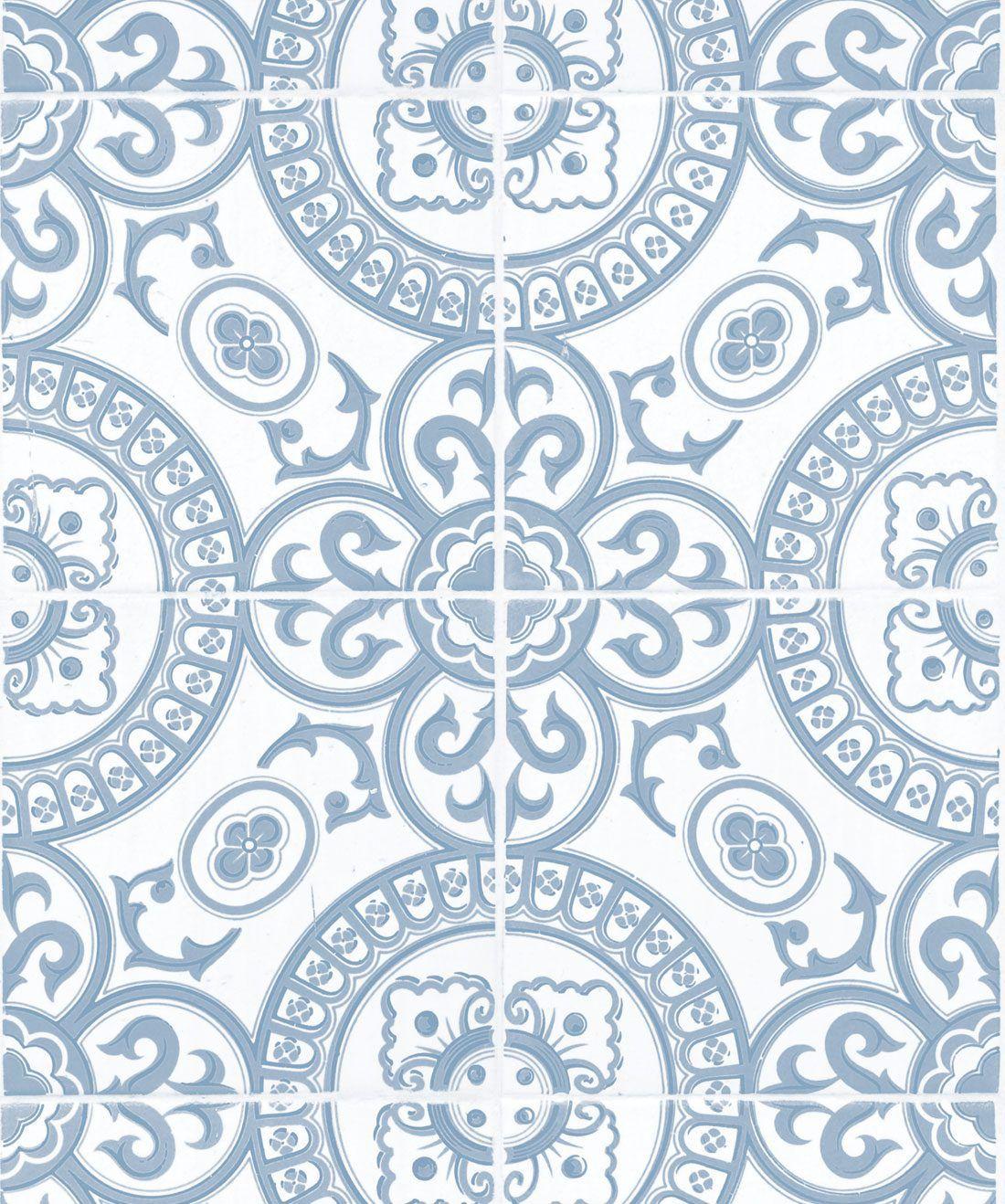 Heritage Tiles Pale Blue