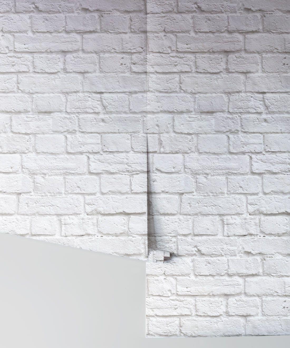 Soft White Bricks Wallpaper Realistic Accurate Bricks Milton King