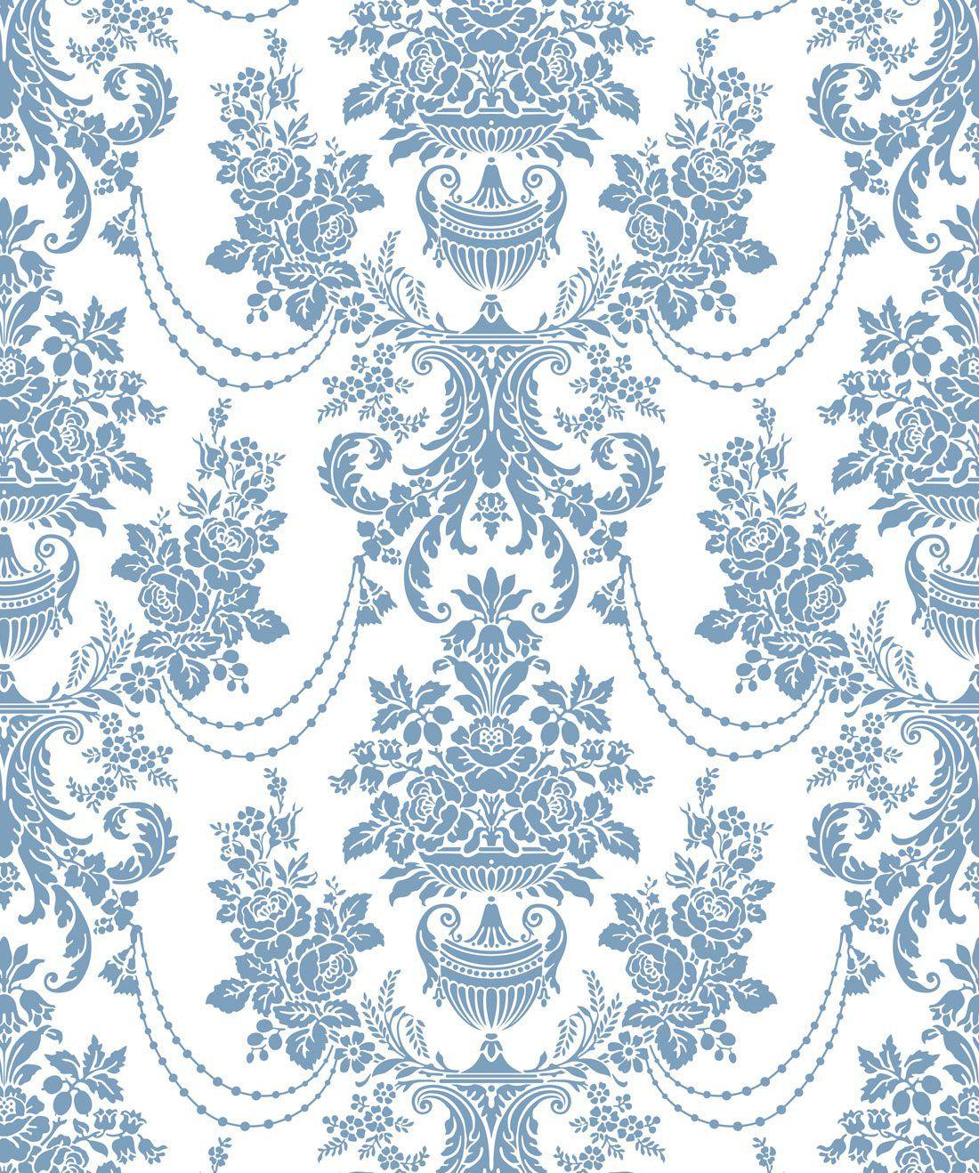 Imperial Wallpaper Dusk Blue