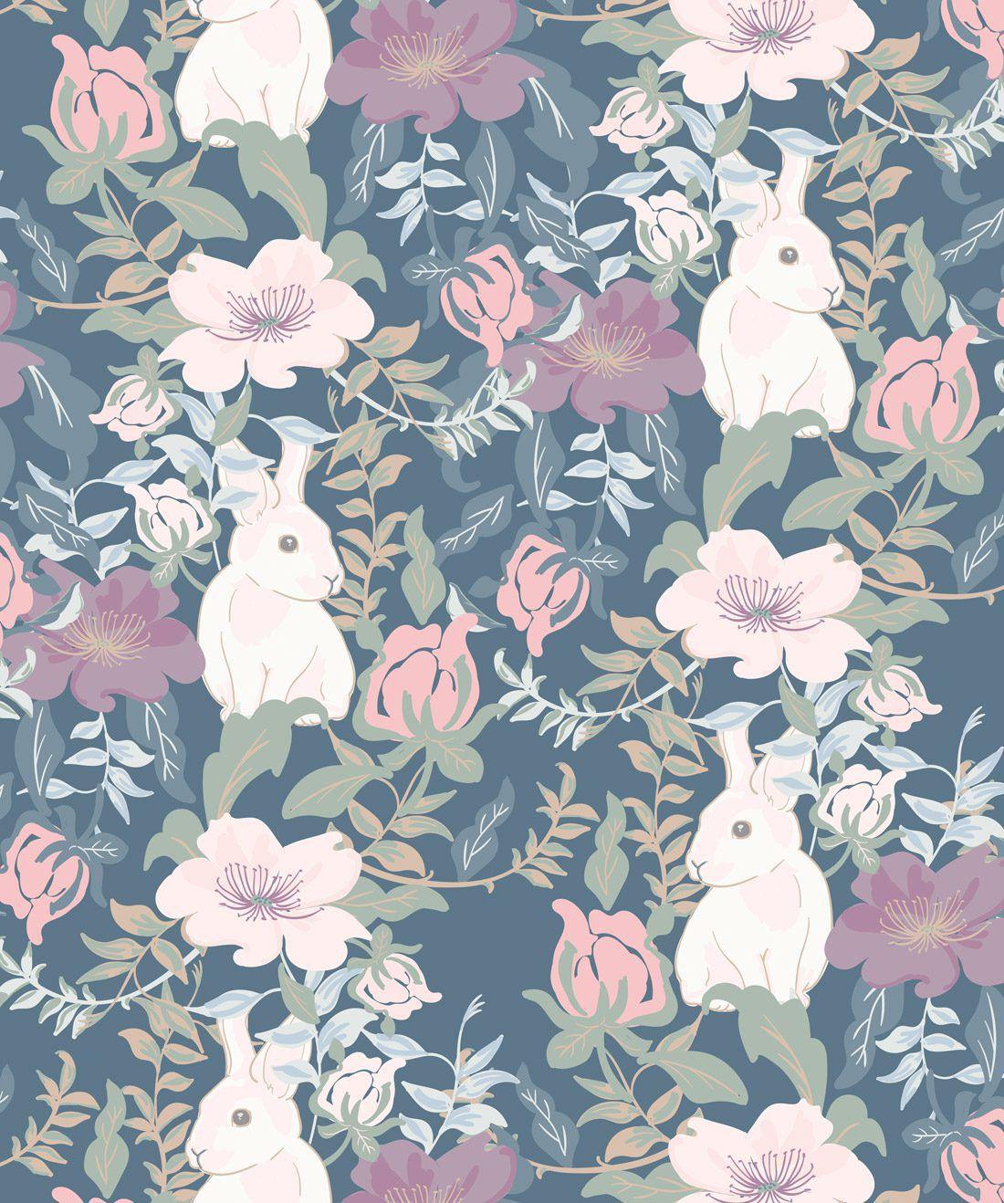 Garden Bunny Pastels