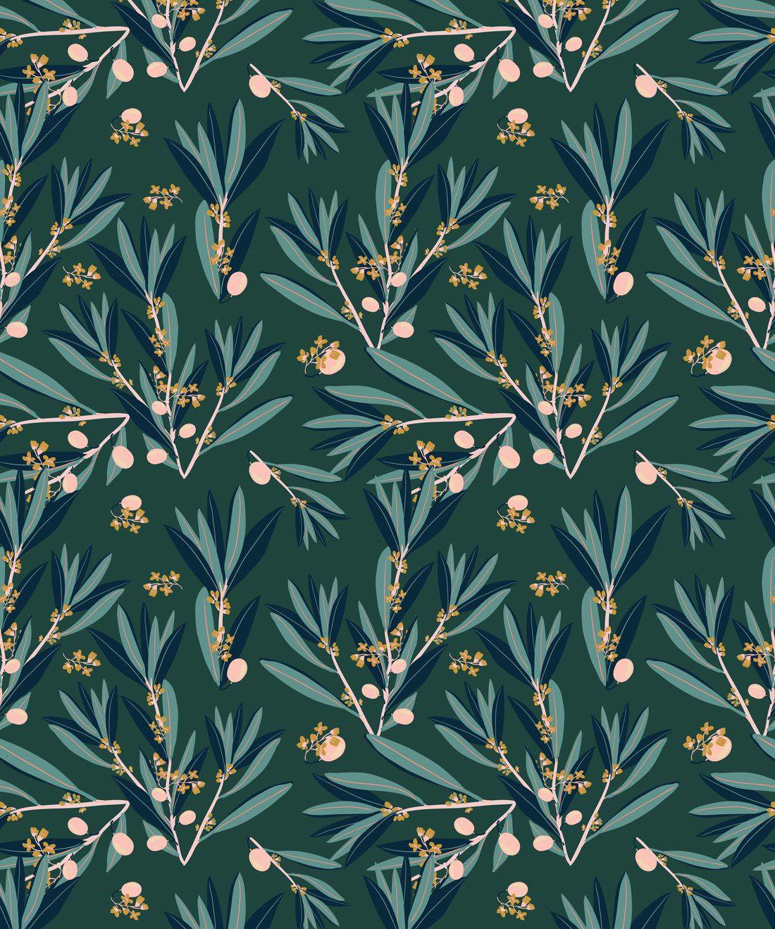 Olive Dapple Laurel Wood