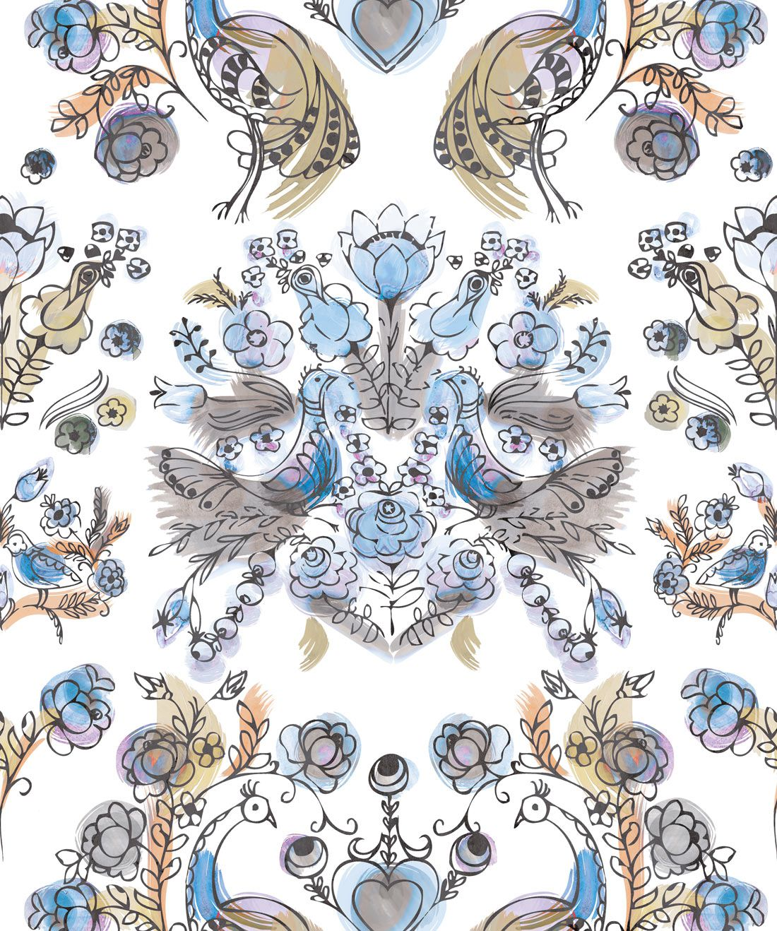 Briar Rose Wallpaper
