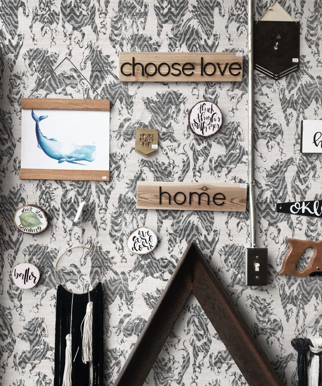 Stampede Wallpaper Installation