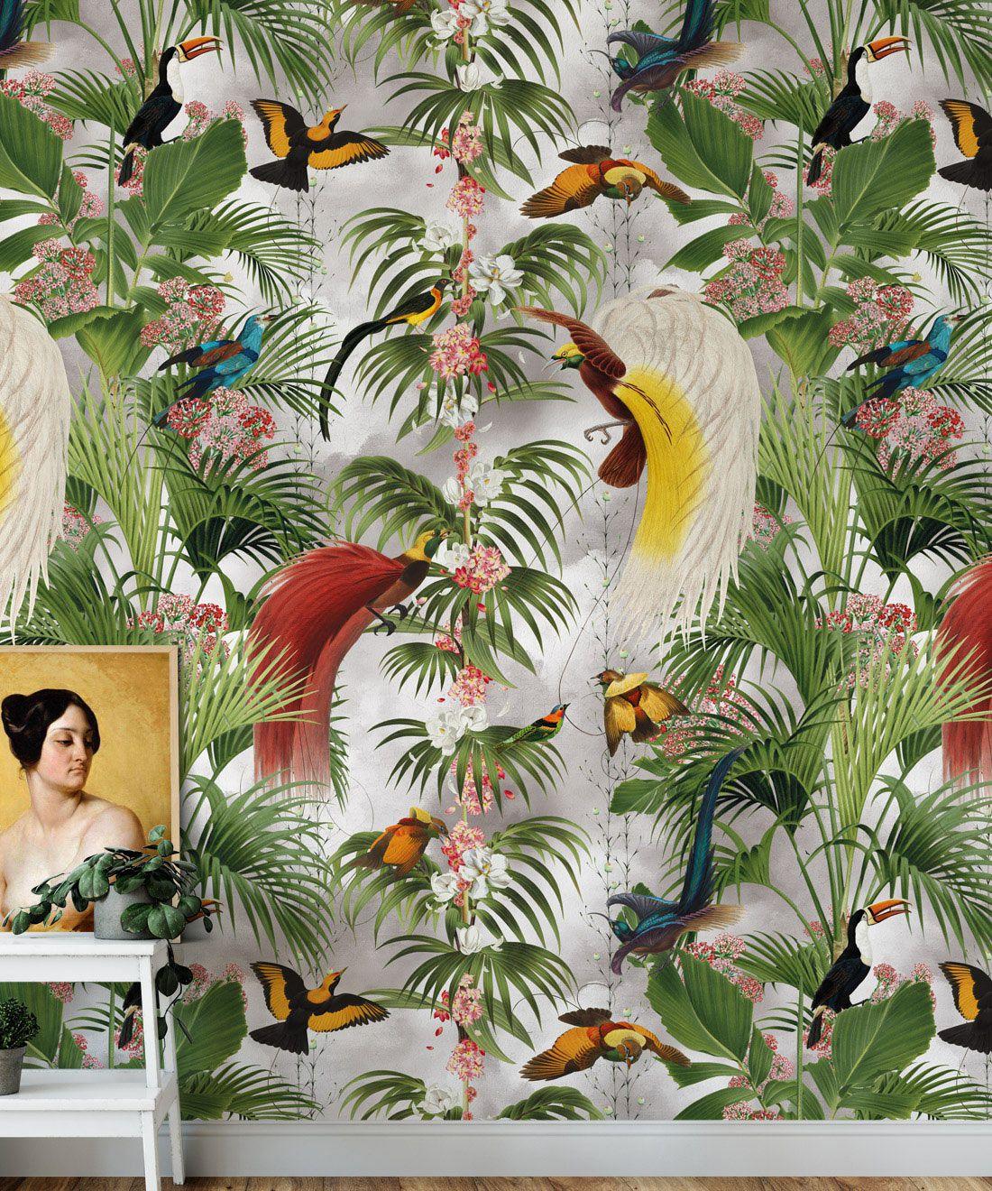 Paradiso Wallpaper • Tropical Bird wallpaper