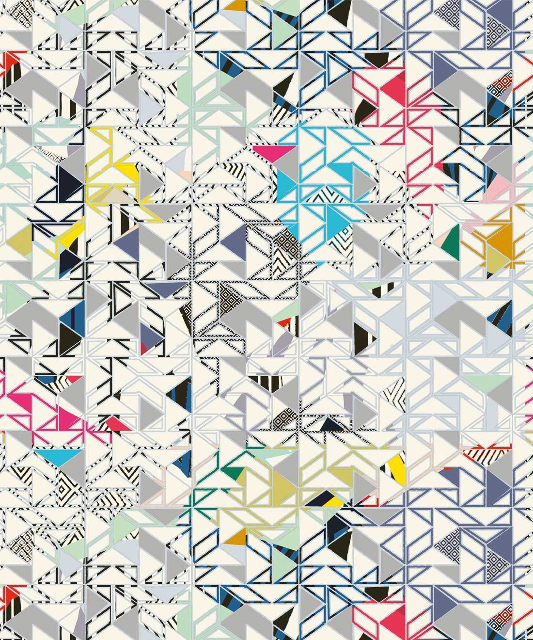 Bauhaus Wallpaper - Kitty McCall • Milton & King