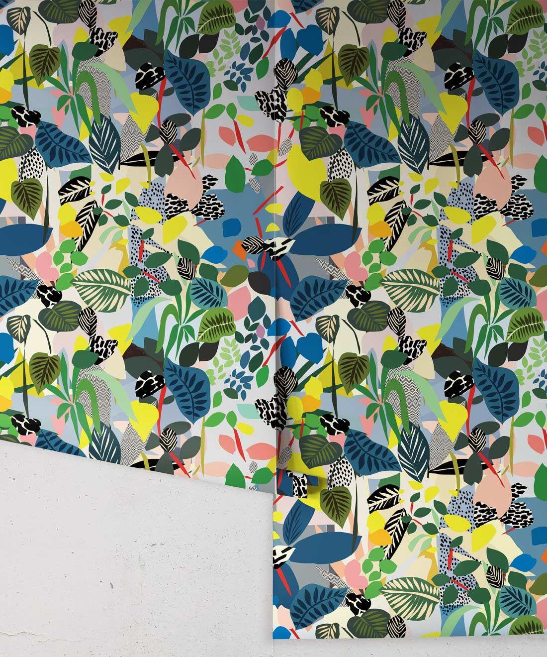 Hockney Wallpaper - Kitty McCall •Milton & King