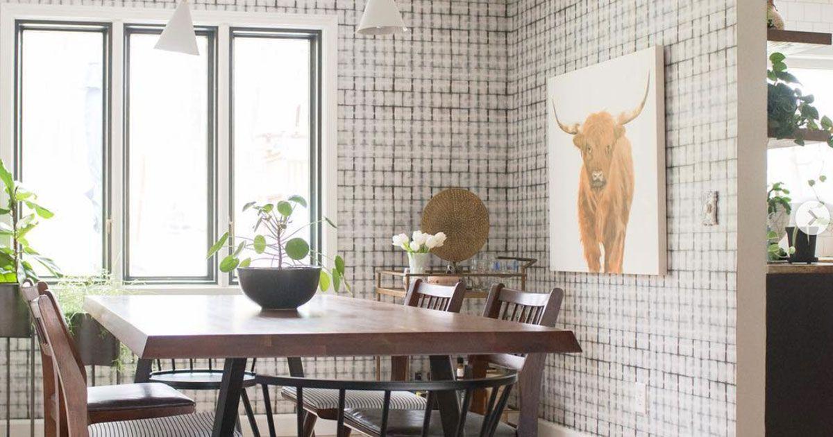 Dining Room Wallpaper • Milton & King