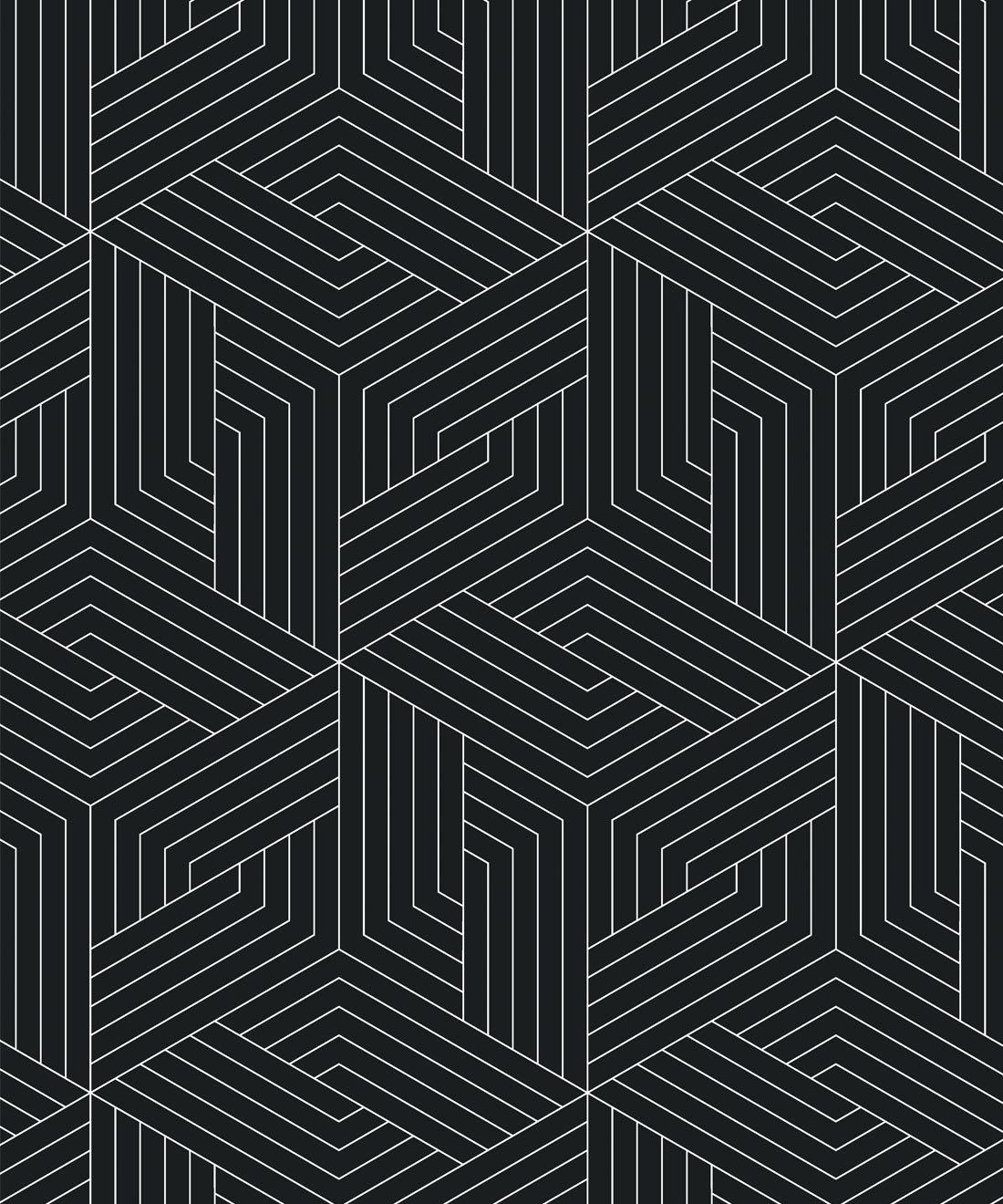 Geometric Illusions Wallpaper Simple Modern Milton King