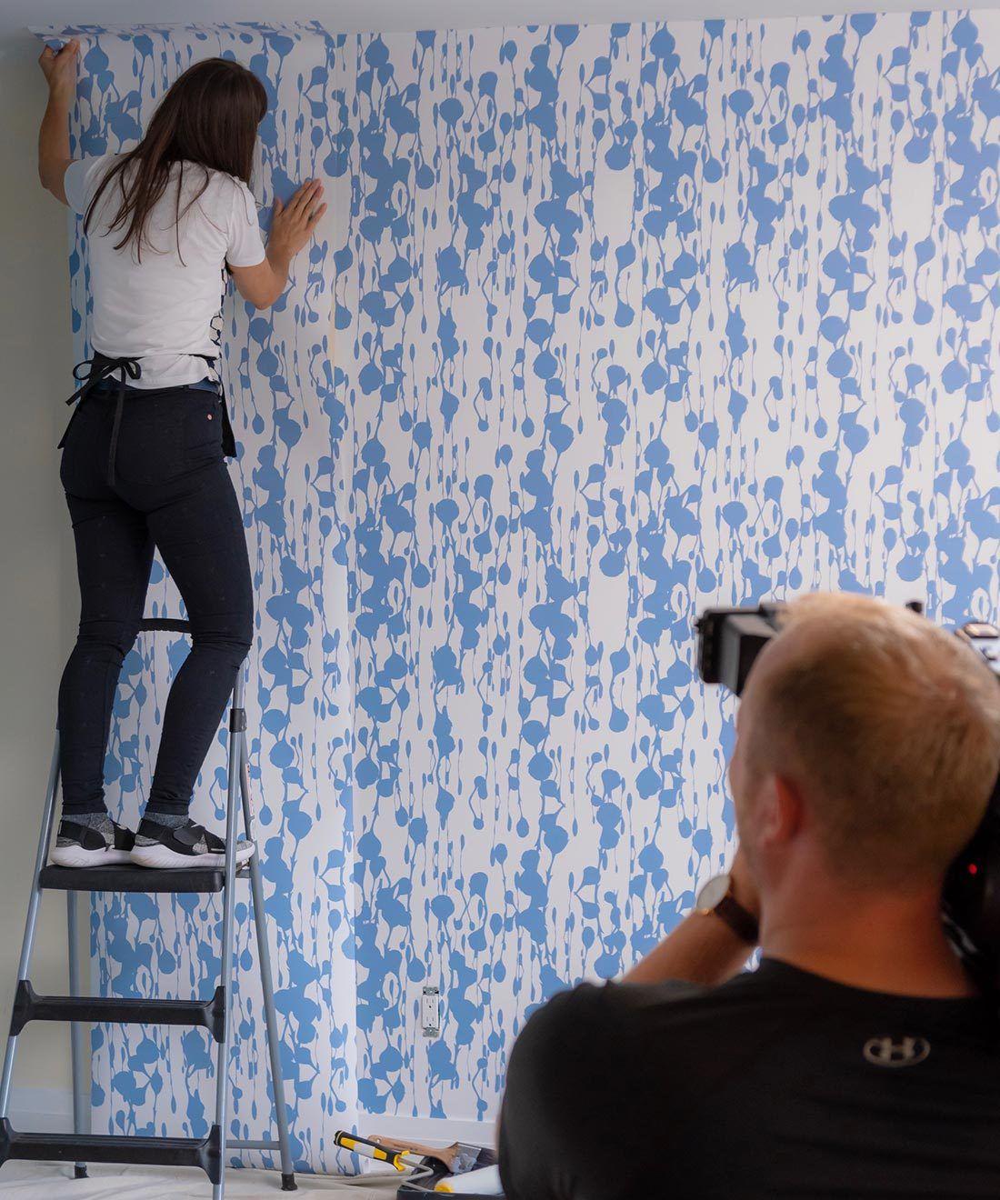 Floss Delight Wallpaper •Milton & King