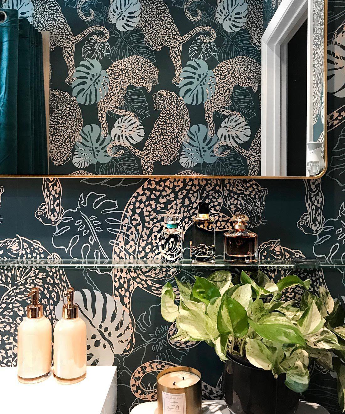 Leopard Wallpaper • Milton & King