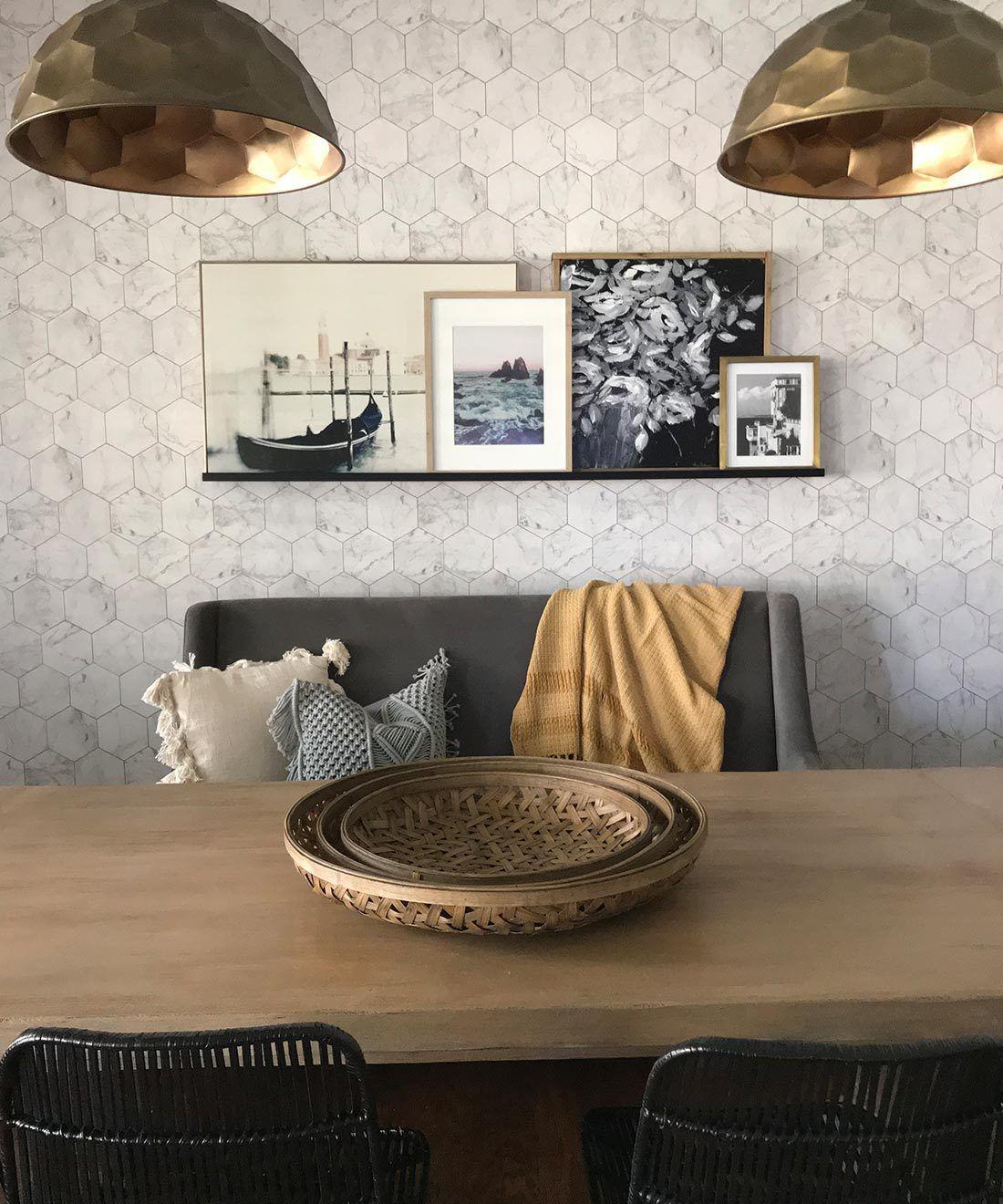 Marble & Copper Wallpaper •Milton & King