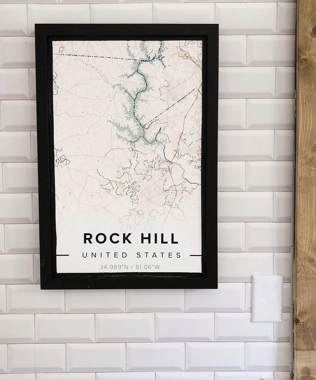 White Subway Tile Wallpaper •Milton & King