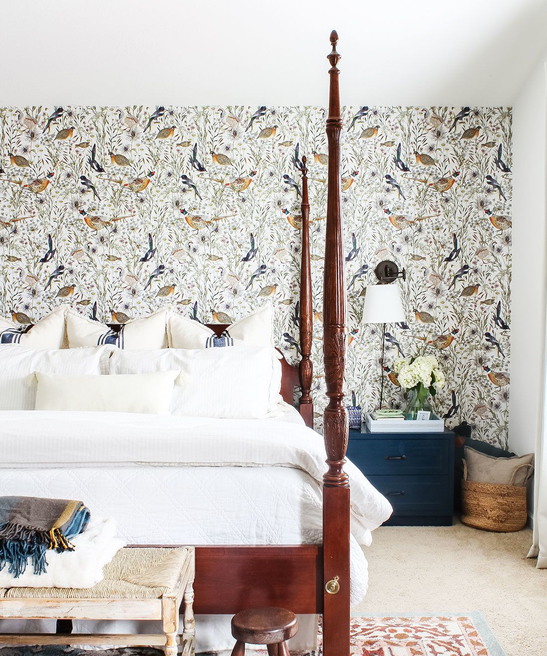 Woodland Birds Wallpaper • Milton & King