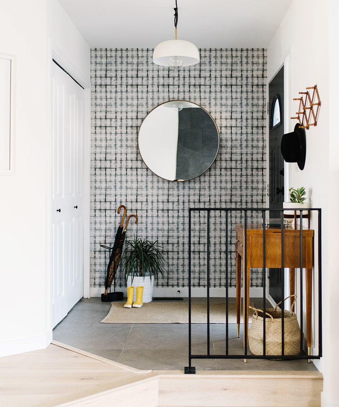 Earth Grey Brick Shibori Wallpaper • Milton & King