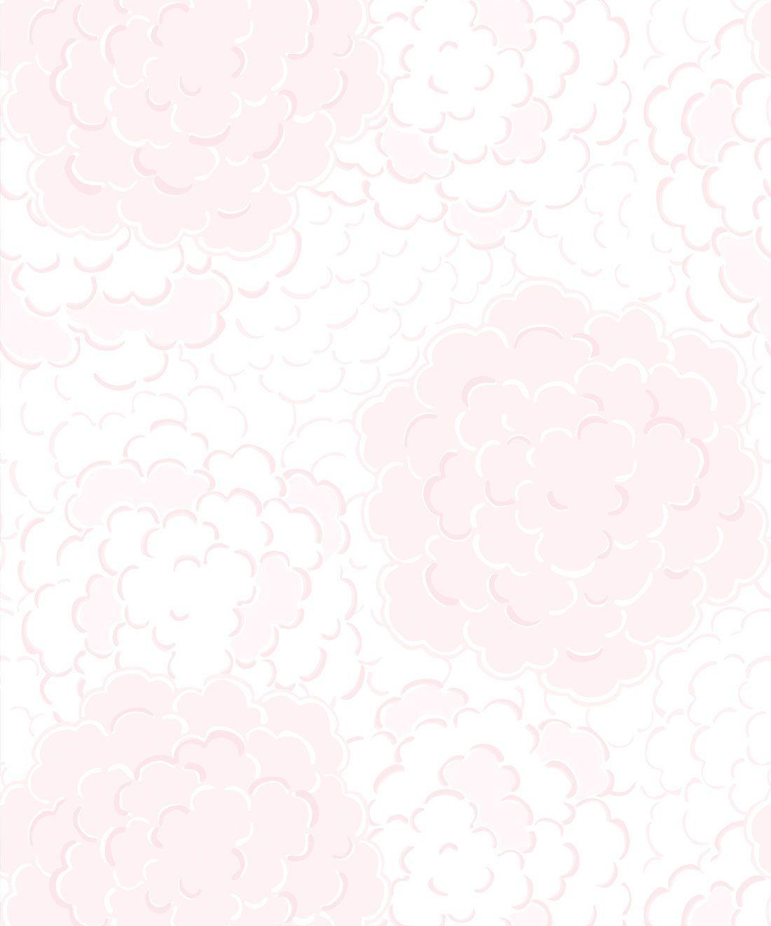 Pink Peony Wallpaper • Floral Wallpaper • Milton & King USA