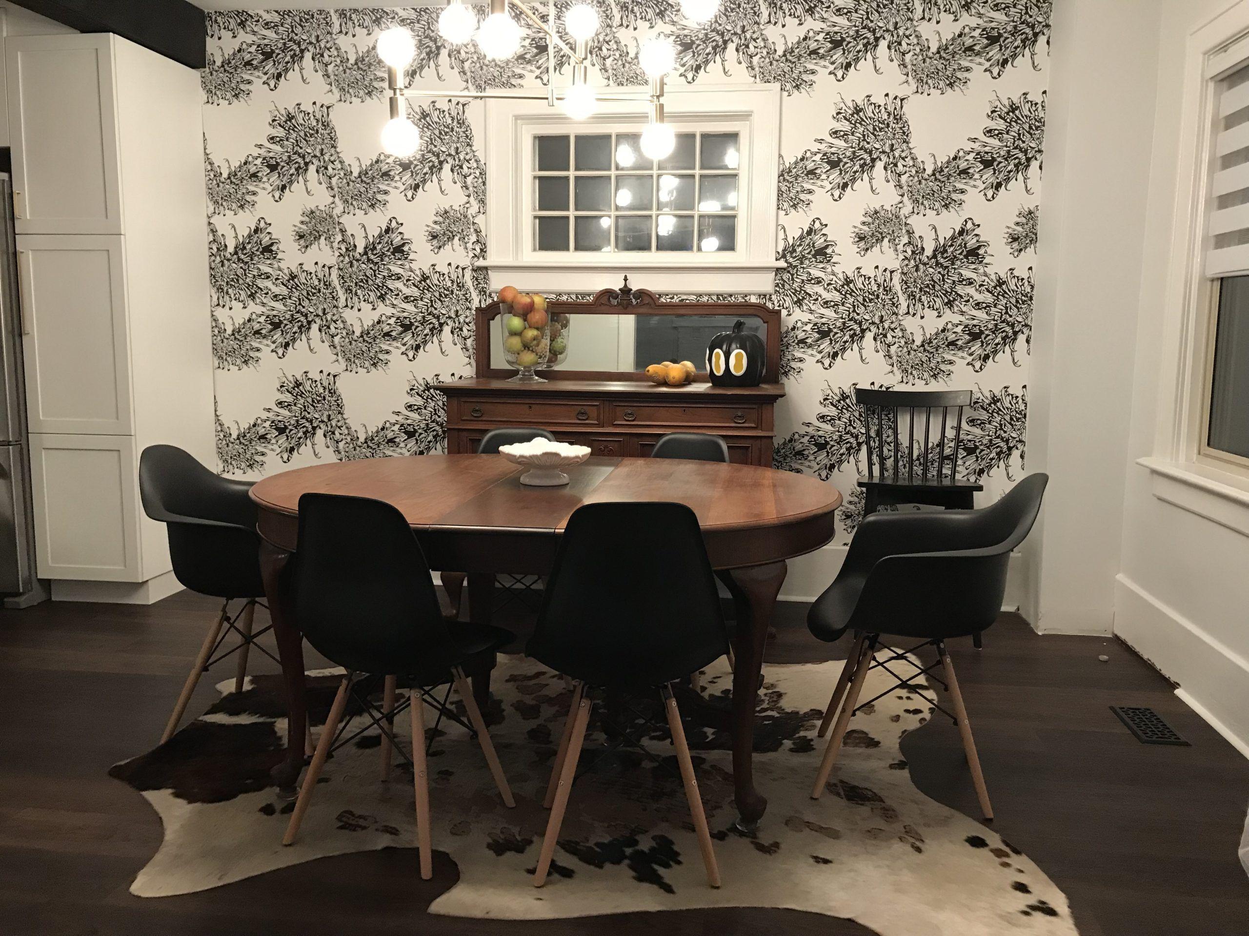 Narnie Wallpaper • Dining Room • Ainslie Watson •MitchandLu