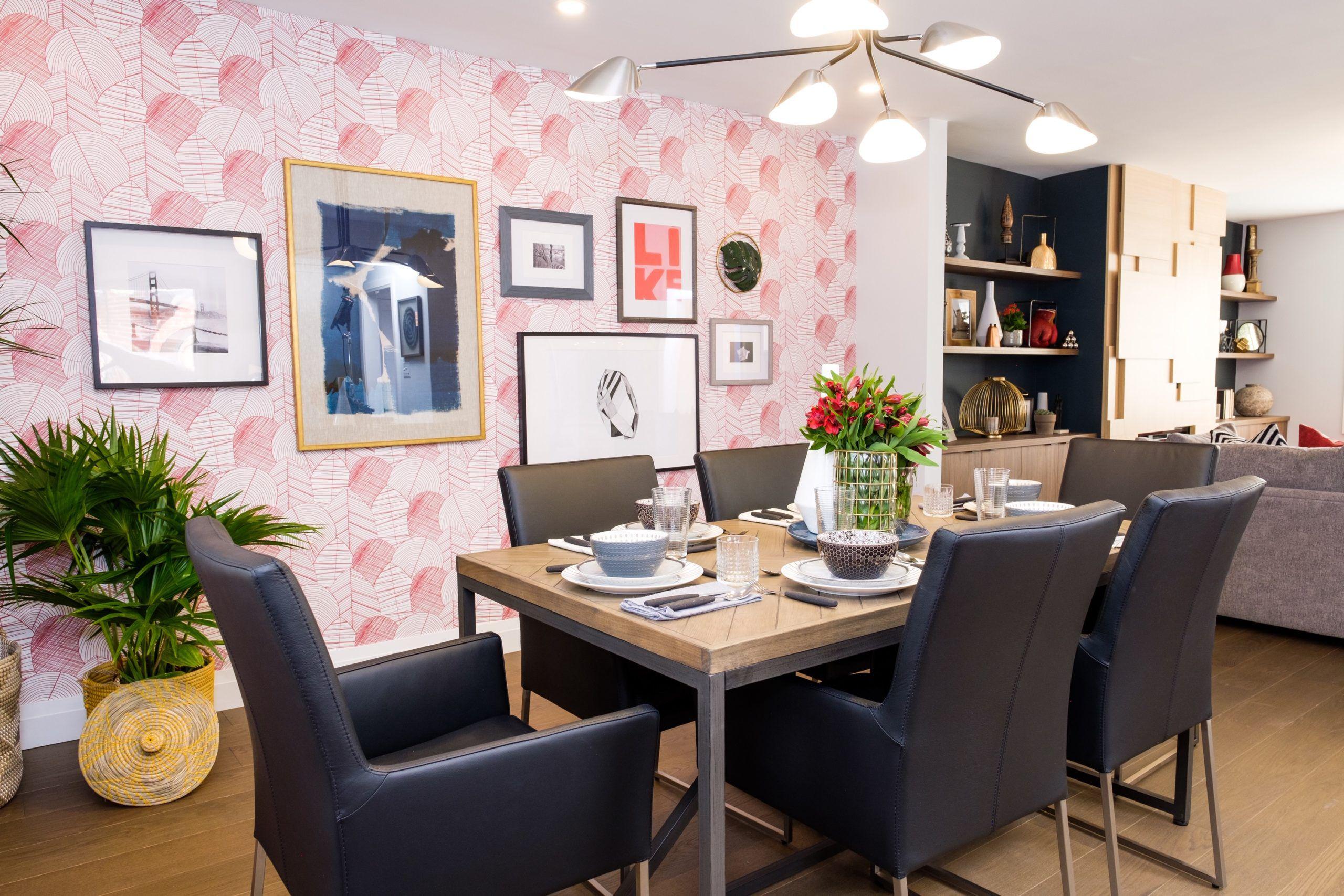 Dining Room Wallpaper •Byronian Hills
