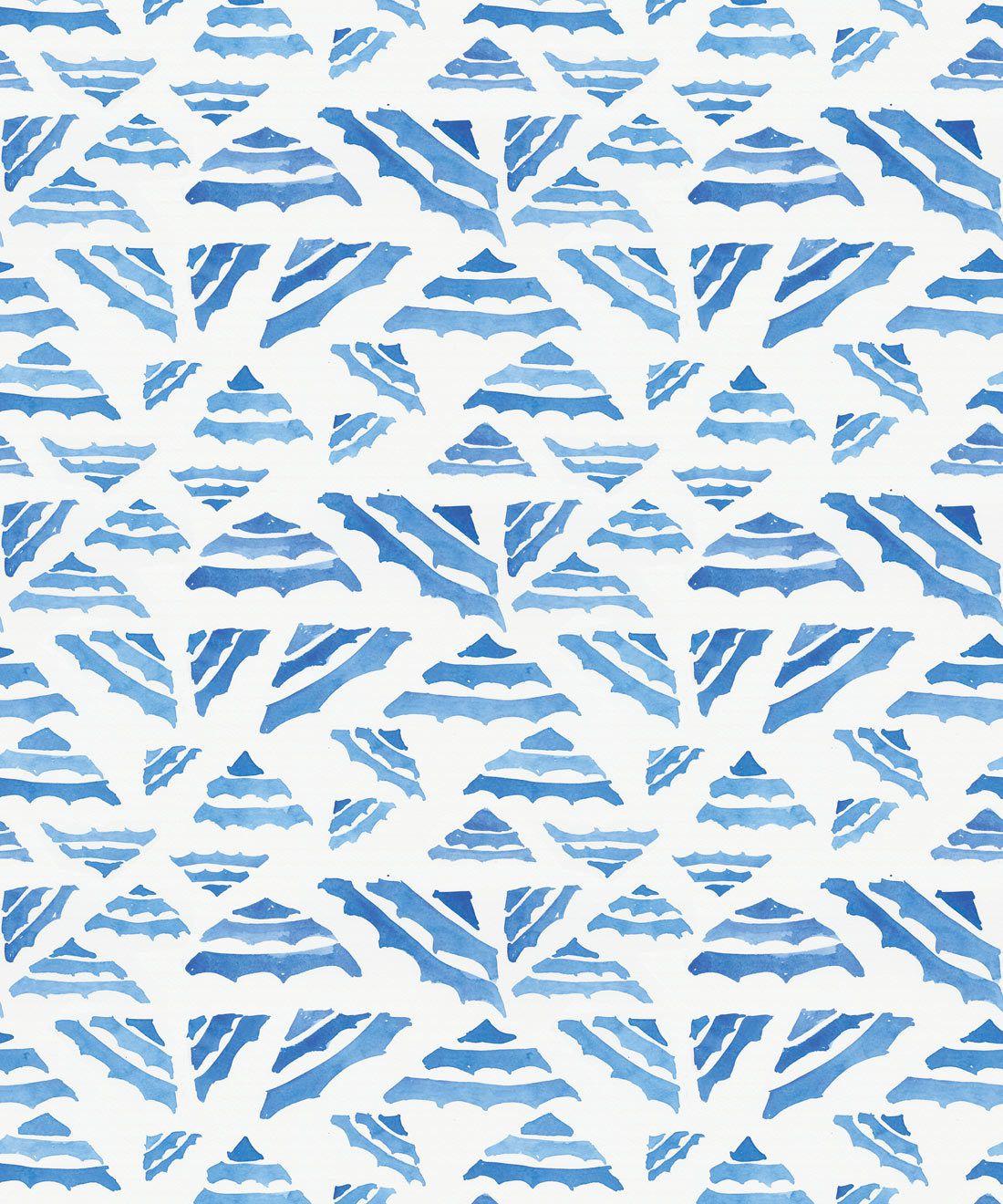 La Fontelina • Blue Wallpaper • Milton & King USA